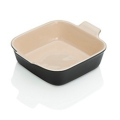 Le Creuset - Heritage Satin Black Square Dish 23cm