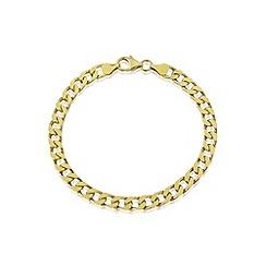 Love Story - Gents silver & gold plated bracelet