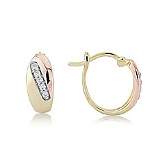 Love Story - Stunning 'rose' coloured earrings