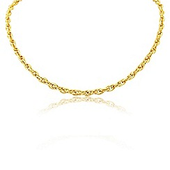 Love Story - 9ct Yellow Gold Ladies Neck Chain