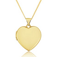 Precious Moments - 9ct gold ladies love heart locket