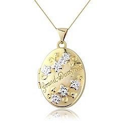 Precious Moments - 9ct gold grandaughter locket
