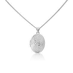 Love Story - Sterling silver 'Love' locket