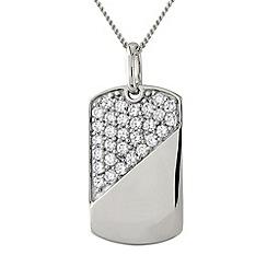 Precious Moments - Silver, stone-set pendant