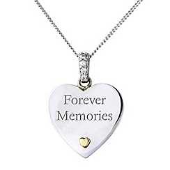 Precious Moments - Silver and gold 'forever memories'