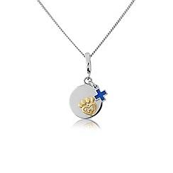 Pawprints - Silver charm