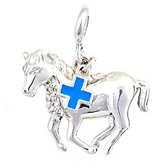 Hoofprints - Silver pony charm