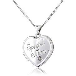 Precious Moments - Silver, 'special mum' locket