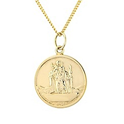 Precious Moments - 9ct Gold Ladies St Christopher