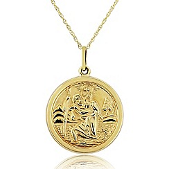 Precious Moments - 9ct Gold St Christopher Pendant