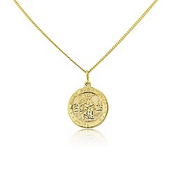 Precious Moments - Sterling silver st christopher pendant