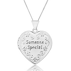 Precious Moments - Sterling Silver Ladies 'Someone Special' Locket