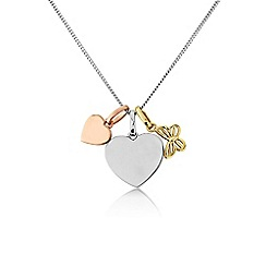 Precious Moments - Silver charm pendant
