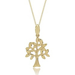 Precious Moments - 9ct Gold 'Family' Tree Pendant