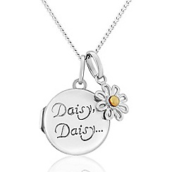 Precious Moments - Sterling Silver 'Daisy' Locket