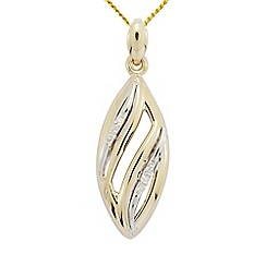 Precious Moments - 9ct Gold Stone set Pendant