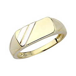 Precious Moments - Gents 9ct gold signet ring