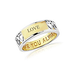Precious Moments - Sterling silver 'Love you always' ring
