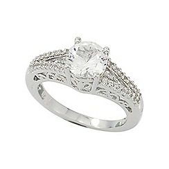 Precious Moments - Sterling Silver Stone set Ladies Dress Ring