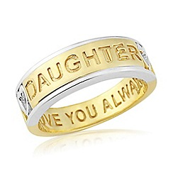 Precious Moments - Sterling silver 'Daughter' ring