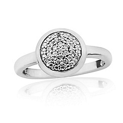 Precious Moments - Sterling silver ladies stone set ring