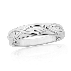 Precious Moments - Sterling silver ladies dress ring