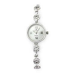 Sovereign - Sterling Silver CZ Watch