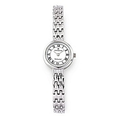 Sovereign - Silver diamond set ladies watch