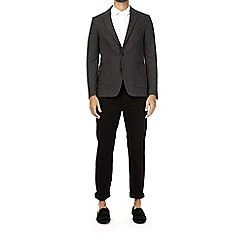 Burton - Charcoal wool blend blazer