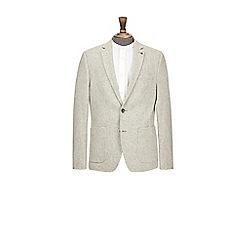 Burton - Grey wool blend blazer