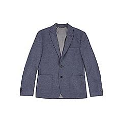 Burton - Blue chambray jersey blazer