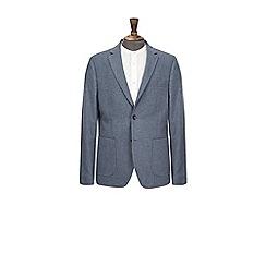 Burton - Blue wool blend blazer