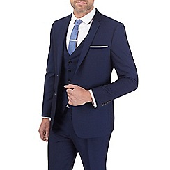 Burton - Skinny fit midnight navy suit jacket