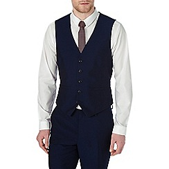 Burton - Skinny fit midnight navy waistcoat