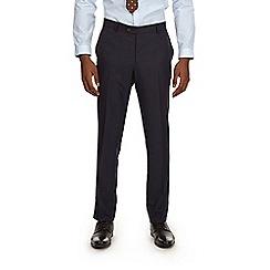 Burton - Navy pinstripe skinny fit suit trousers