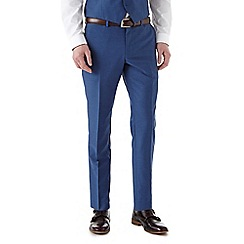 Burton - Skinny fit blue plain suit trousers