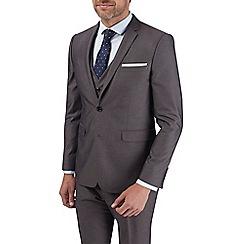 Burton - Grey skinny fit suit jacket
