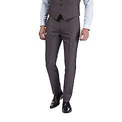 Burton - Grey skinny fit suit trousers