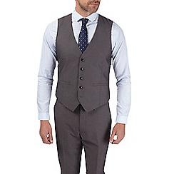 Burton - Grey skinny fit suit waistcoat