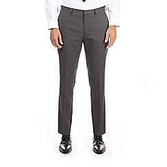 Burton - Grey jacquard skinny fit trousers