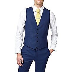 Burton - Cobalt skinny fit waistcoat