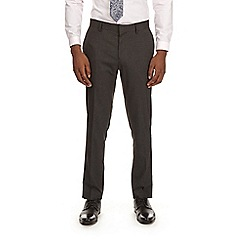 Burton - Dark grey skinny fit essential suit trousers with stretch
