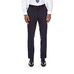 Burton - Navy essential skinny fit suit trousers with stretch