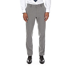 Burton - Light grey essential skinny fit suit trousers with stretch