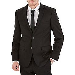 Burton - Black essential slim fit suit jacket