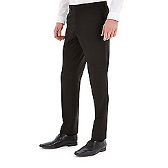 Burton - Black essential slim fit suit trousers