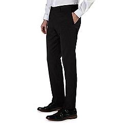 Burton - Black essential slim fit tuxedo trousers