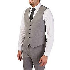 Burton - Slim fit mottled grey waistcoat