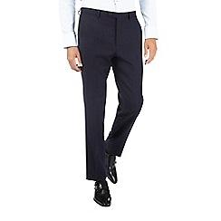 Burton - Montague burton 100% wool navy  suit trousers