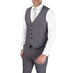 Burton - Grey grindle slim fit waistcoat